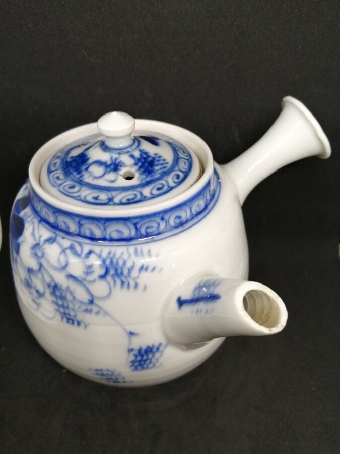 Japanese Side Handle Teapot with Insert