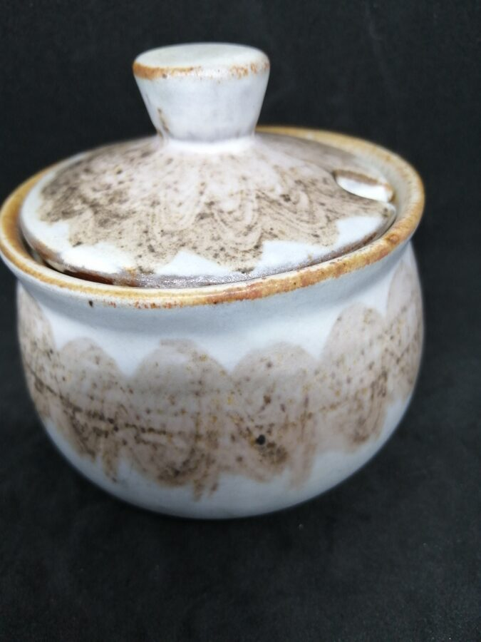 Studio Pottery Condiment Pot