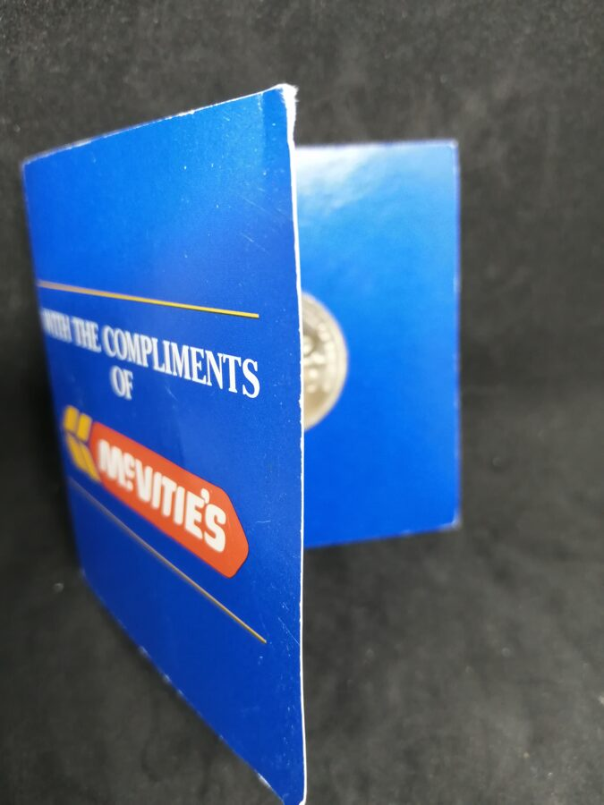 McVities Commemorative Bill Of Rights £2 Coin
