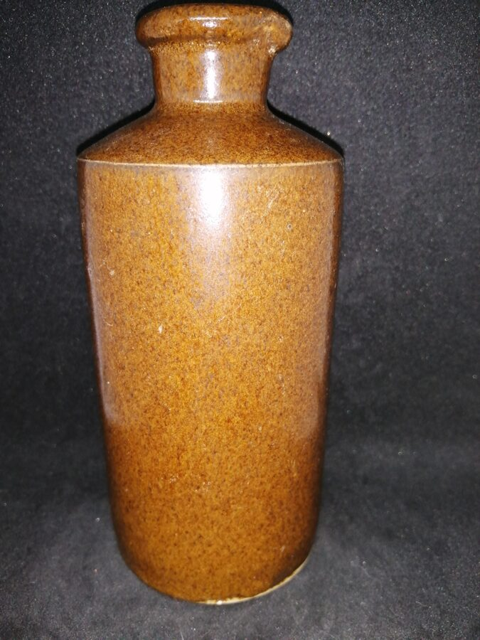 Vintage Stoneware Vessel With Pouring Lip