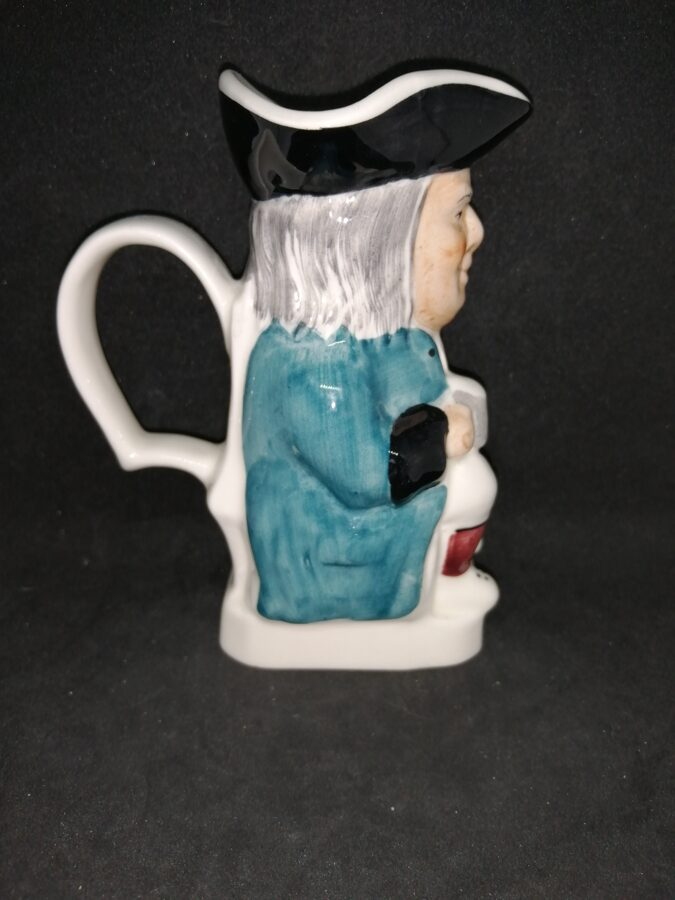 Wood Potters Of Burslam Ceramic Toby Jug