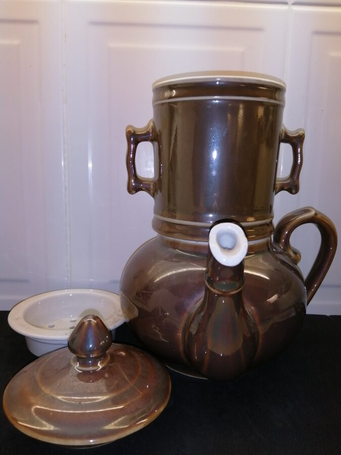 French One Cup Teapot With Infuser