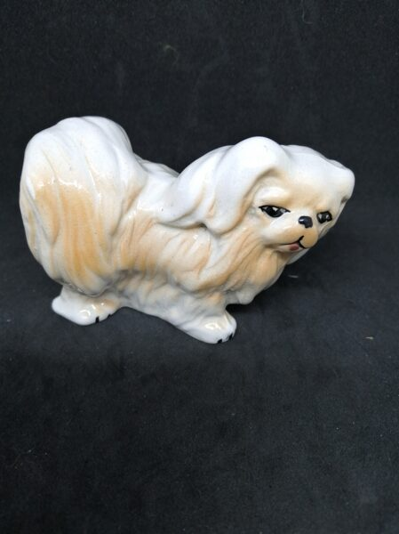 Vintage Pekingese Dog Ornament