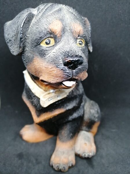 The Obedient Rottweiler Dog Ornament