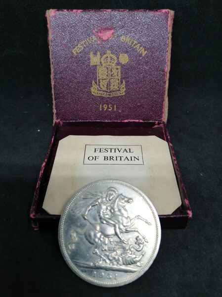 Festival Of Britain 5 Shillings Coin