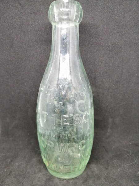 Antique Steward and Patterson Ltd Glass Bottle