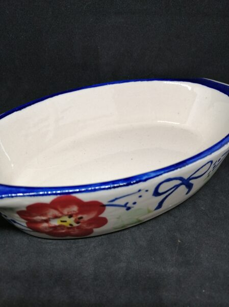 Spanishware Style Small Oval Pie Dish